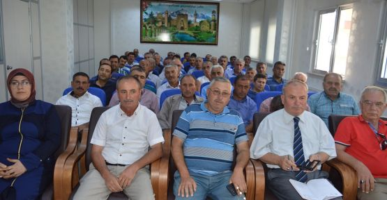 SGK'dan Muhtarlara Bilgilendirme Toplantısı