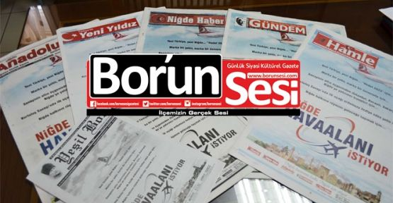 Silah Atma, Can Yakma (2 Haziran Gazete Manşetleri)