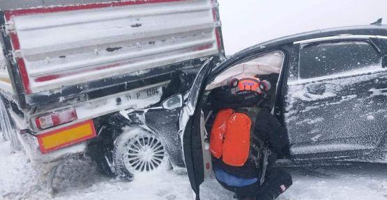 TBMM İdare Amiri Şahin Niğde'de kaza yaptı