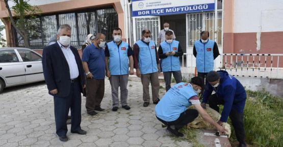 TDV Bor Şubesi Şükür Kurbanı Kesti