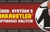 Gürer, 'Atatürk'e Hakaretler Yaptırımsız Kalıyor'
