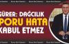 """Gürer, 'Dağcılık Sporu hata kabul etmez"""""""