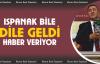"""Gürer, 'Ispanak bile dile geldi, haber veriyor"""""""