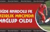 Niğde Anadolu FK hazırlık maçında Giresunspor'a mağlup oldu