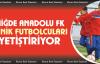 Niğde Anadolu FK minik futbolcuları yetiştiriyor
