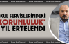 Okul Servislerindeki Zorunluk 1 Yıl Ertelendi