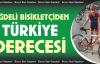 Türkiye Şampiyonasında Niğdeli Bisikletçi Türkiye 2'incisi Oldu