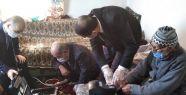 Altunhisar'da 96 yaşındaki Ali Özkan'ın...