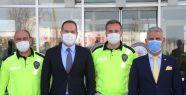 Başkan Özdemir'den emniyete polis haftası...