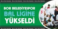Bor Belediyespor Bölgesel Amatör Lig'e...
