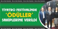 Bor Tiyatro Festivali Ödül Töreni Düzenlendi
