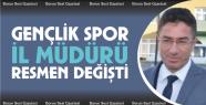 Gençlik ve Spor İl Müdürlüğüne İlker...