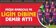 Niğde Anadolu FK Ligin Dibine Demir Attı