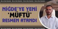 Niğde İl Müftülüğüne Mehmet Sırrı...