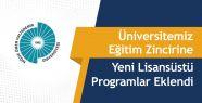 NÖHÜ'de Yeni Lisansüstü Programlar Eklendi