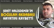 Şehit Astsubay Halisdemir'in boğulan akrabası...