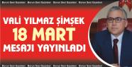 Vali Şimşek'in 18 Mart Şehitleri Anma...