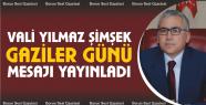 Vali Yılmaz Şimşek'in Gaziler Günü...