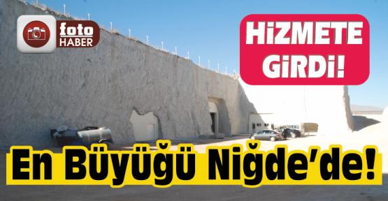 Türkiye'nin En Büyük Yer Altı Depolama Tesisi Hizmete Girdi