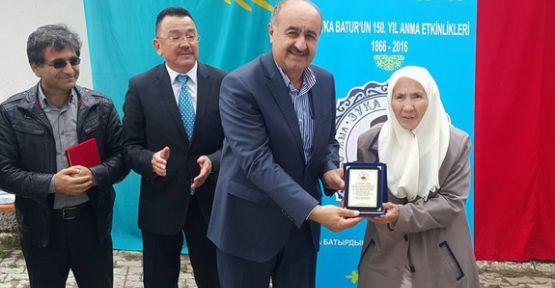 Türklerin Kahramanı Zuvka Batur Sayibtoğlu Altay Köyünde Anıldı