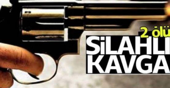 Üçkapılı köyünde Silahlı Kavga 2 ölü 1 ağır yaralı