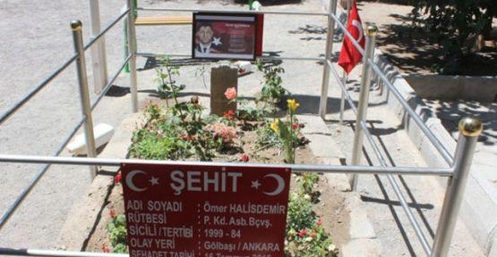 Ünlü Oyuncu Ömer Halisdemir'in Mezarını Ziyaret Etti
