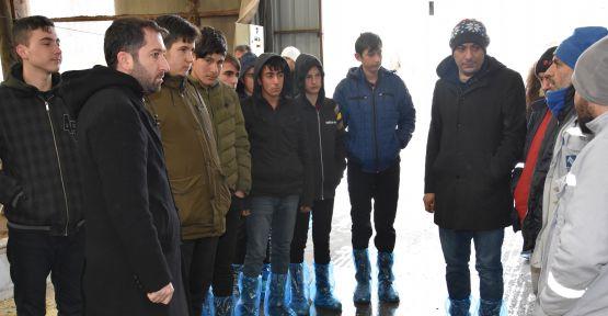 Usta Çırak Projesi Kapsamında Öğrenciler İşletmeleri Geziyor