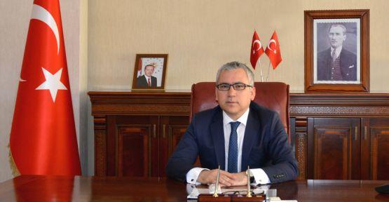 Vali Şimşek'ten Jandarma'ya Kutlama Mesajı