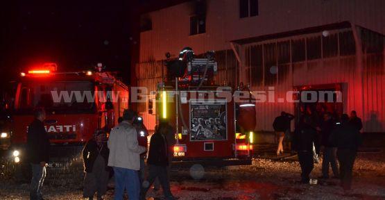(VİDEO HABER) Bor'da Mezbahane Yangını