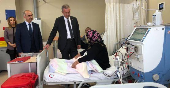 Yavuz Ergun Hasta Vatandaşlara Ziyarette Bulundu