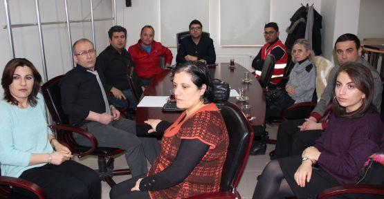Yerel Düzey Sağlık Hizmet Grubu Operasyon Planı Toplantısı Yapıldı