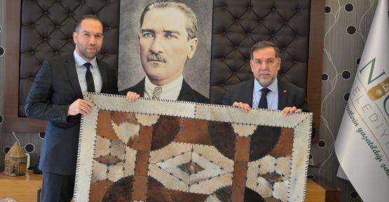 Yerel Yönetimler Başkan Yardımcısı Zenbilci'den Başkan Emrah Özdemir'e Ziyaret