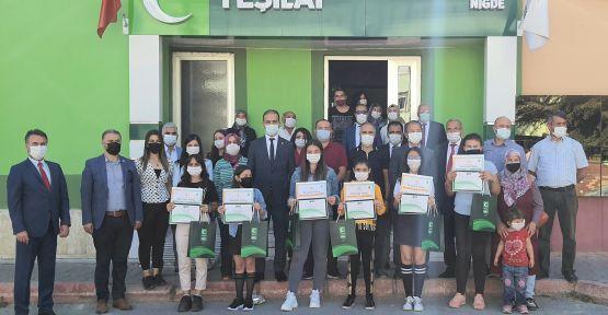 Yeşilay'dan Öğrencilere 3 Bin TL Ödül