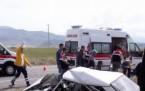 Karakapı'da Trafik Kazası