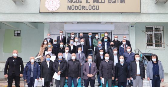 Niğde'de 350 okula okulum temiz belgesi verildi