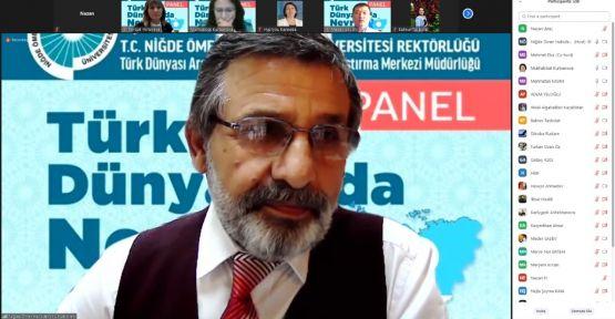 """Üniversitede """"Türk dünyasında nevruz"""" paneli"""